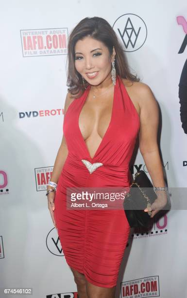 Actress Akira Lane arrives for the 33rd Annual XRCO Awards Show held at OHM Nightclub on April 27 2017 in Hollywood California