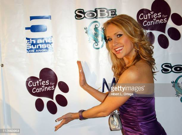 Actress Alana Curry arrives for the 1st Annual Cuties for Canines Benefit Auction that saves dogs from being euthanized held at 5th Sunset Studios on...