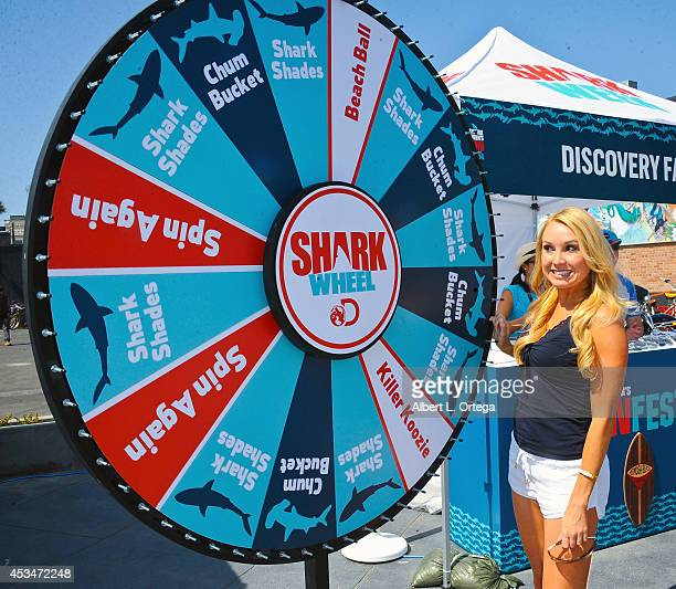 Actress Alana Curry at the Discovery Channel's Day 2 of Shark Week Kickoff with FinFest 2014 hosted by The Discovery Channel held at the Hermosa...