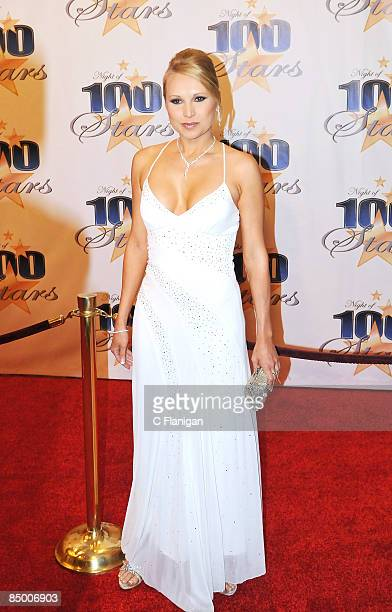 """Actress Alana Curry attends The 19th Annual """"Night of 100 Stars"""" Gala at The Beverly Hills Hotel on February 22, 2009 in Beverly Hills, California."""
