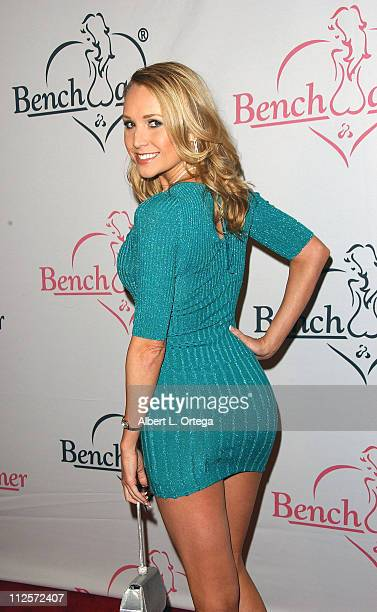 Actress Alana Curry attends the Second Annual Bench Warmers Trading Cards Holiday Party and Toy Drive benefitting Toys ForTots on December 18 2007 at...