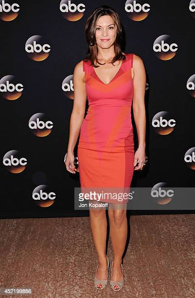 Actress Alana De La Garza arrives the Disney|ABC Television Group 2014 Television Critics Association Summer Press Tour at The Beverly Hilton Hotel...
