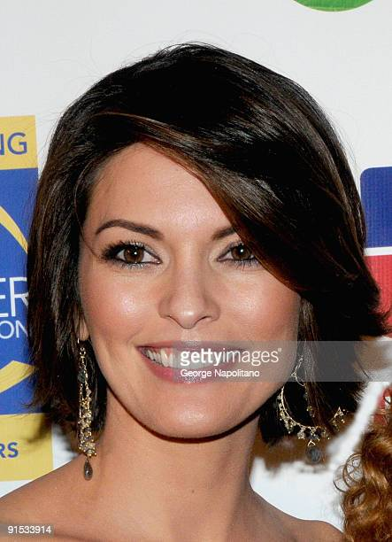 Actress Alana de la Garza attends the 2009 Skin Cancer Foundation Skin Sense Award Gala at The Pierre Hotel on October 6 2009 in New York City