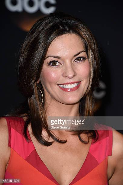 Actress Alana de la Garza attends the Disney/ABC Television Group 2014 Television Critics Association Summer Press Tour at The Beverly Hilton Hotel...