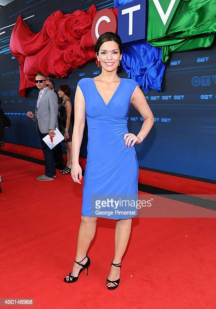Actress Alana de la Garza of Forever attends the CTV 2014 Upfront at Sony Centre for the Performing Arts on June 5 2014 in Toronto CanadaÊ