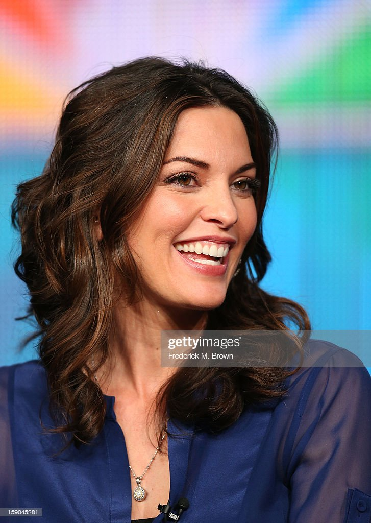 Actress Alana De La Garza speaks onstage at the 'Do No Harm' panel session during the NBCUniversal portion of the 2013 Winter TCA Tour- Day 3 at the Langham Hotel on January 6, 2013 in Pasadena, California.