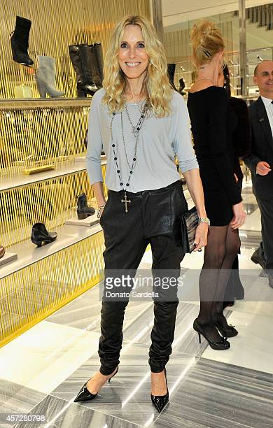 Actress Alana Stewart attends a cocktail event with Barneys New York and HOLA to celebrate the newly renovated Beverly Hills Flagship Store at...