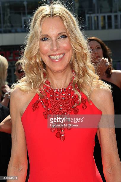Actress Alana Stewart attends the 2009 Primetime Creative Arts Emmy Awards at the Nokia Theatre LA Live on September 12 2009 in Los Angeles California