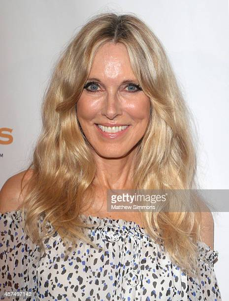 Actress Alana Stewart attends the Farrah Fawcett Foundation 1st annual TexMex Fiesta at Wallis Annenberg Center for the Performing Arts on September...