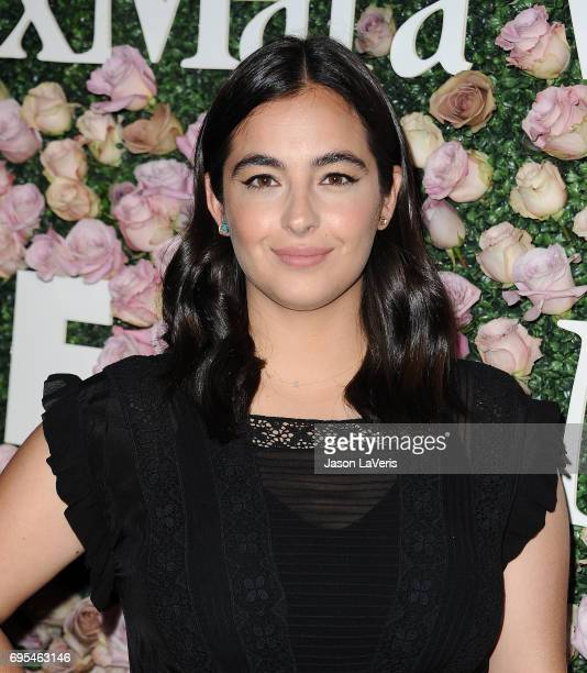 Actress Alanna Masterson attends Max Mara and Vanity Fair's celebration of Women In Film's Face of the Future Award recipient Zoey Deutch at Chateau...