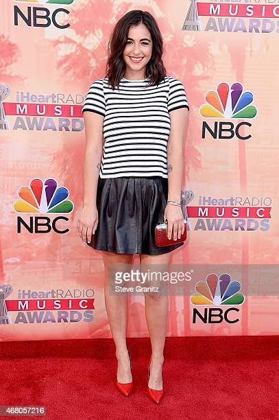 Actress Alanna Masterson attends the 2015 iHeartRadio Music Awards which broadcasted live on NBC from The Shrine Auditorium on March 29 2015 in Los...