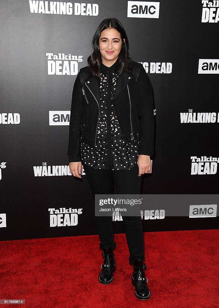 "AMC Presents Live, 90-Minute Special Edition Of ""Talking Dead"" - Arrivals : Foto di attualità"
