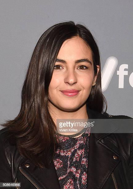 Actress Alanna Masterson attends 'The Walking Dead' event during aTVfest 2016 presented by SCAD on February 5 2016 in Atlanta Georgia