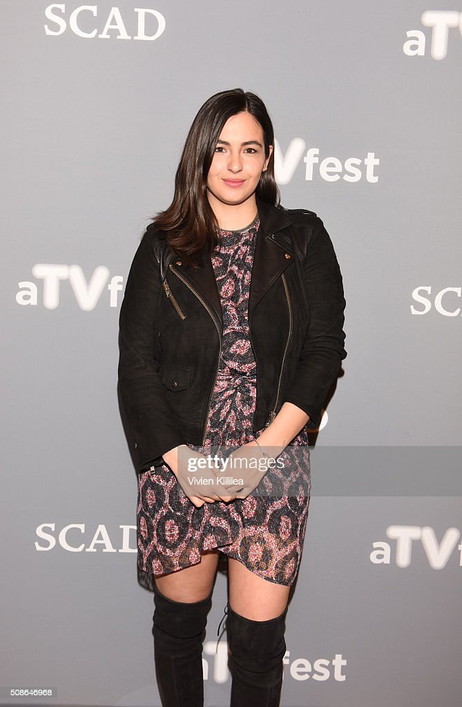 Actress Alanna Masterson attends 'The Walking Dead' event during aTVfest 2016 presented by SCAD on February 5, 2016 in Atlanta, Georgia.