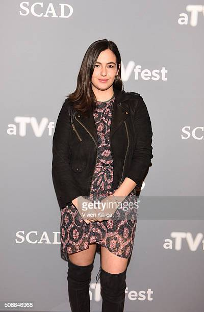 Actress Alanna Masterson attends The Walking Dead event during aTVfest 2016 presented by SCAD on February 5 2016 in Atlanta Georgia
