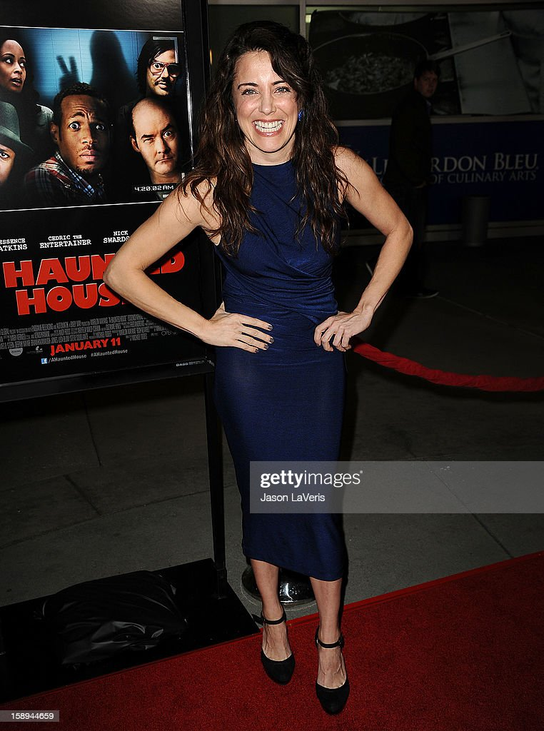 Actress Alanna Ubach attends the premiere of 'A Haunted House' at ArcLight Hollywood on January 3, 2013 in Hollywood, California.