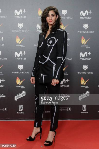 Actress Alba Flores attends Feroz Awards 2018 at Magarinos Complex on January 22 2018 in Madrid Spain