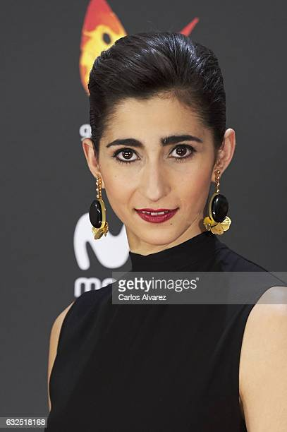 Actress Alba Flores attends the Feroz cinema awards 2016 at the Duques de Pastrana Palace on January 23 2017 in Madrid Spain