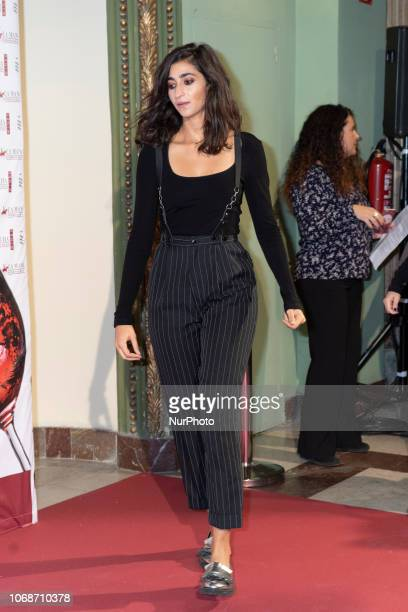 Actress Alba Flores attends the 'Solidarios Jovenes Awards' photocall at Fernando de Rojas theatre on December 04 2018 in Madrid Spain