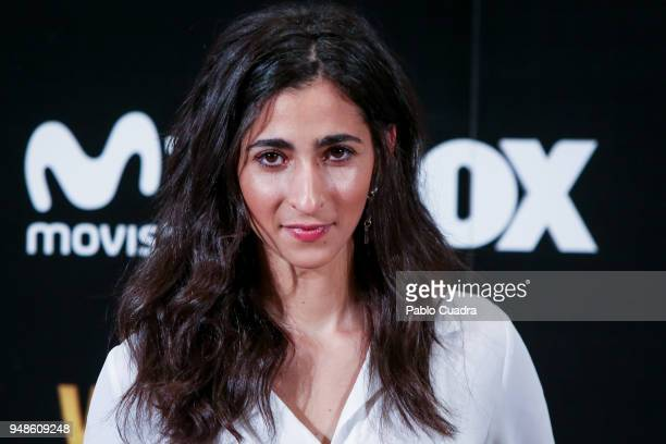 Actress Alba Flores attends the 'Vis A Vis' photocall at VP Plaza de Espana Hotel on April 19 2018 in Madrid Spain