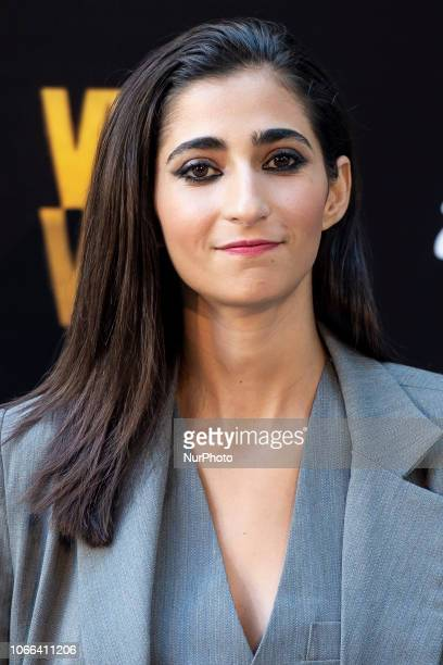 Actress Alba Flores attends to presentation of Season 4 of Vis a Vis series in Madrid Spain November 29 2018