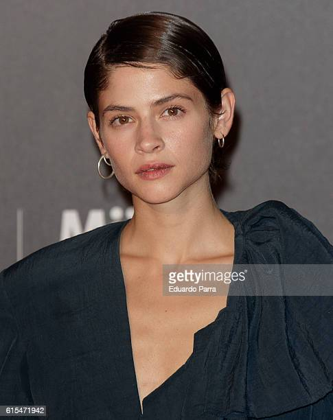 Actress Alba Galocha attends the 'Cosmopolitan Fun Fearless Female' awards 2016 at La Riviera Disco on October 18 2016 in Madrid Spain