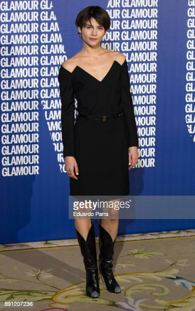 Actress Alba Galocha attends the Glamour Magazine Awards photocall at Ritz hotel on December 12 2017 in Madrid Spain