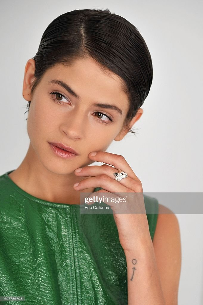 Actress Alba Galocha is photographed for Self Assignment on September 17 2016 in San Sebastian, Spain.