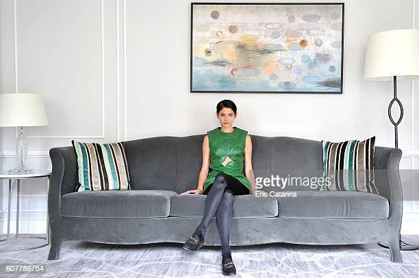 Actress Alba Galocha is photographed for Self Assignment on September 17 2016 in San Sebastian Spain