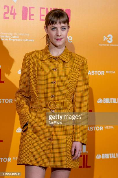 Actress Alba Ribas attends 'Te quiero imbecil' photocall at Hotel Urso on January 21 2020 in Madrid Spain