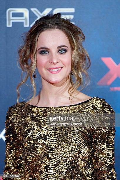 Actress Alba Ribas attends 'XP3D' premiere at Callao Cinema on December 27 2011 in Madrid Spain