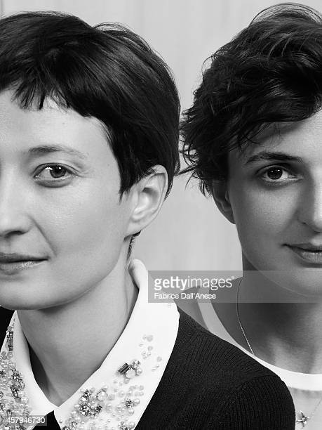 Actress Alba Rohrwacher and director Alice Rohrwacher are photographed for Vanity Fair Italy on May 15 2014 in Cannes France