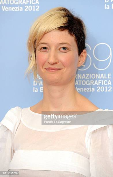 Actress Alba Rohrwacher attends the 'Bella Addormentata' Photocall during the 69th Venice Film Festival at the Palazzo del Casino on September 5 2012...