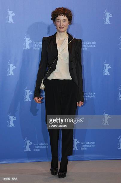 Actress Alba Rohrwacher attends the 'Cosa Voglio Di Piu' Photocall during day four of the 60th Berlin International Film Festival at the Grand Hyatt...