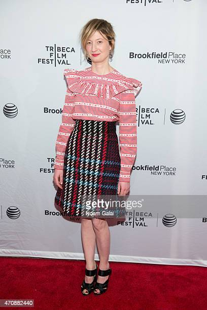 Actress Alba Rohrwacher attends the 'Hungry Hearts' premiere during the 2015 Tribeca Film Festival at SVA Theater 1 on April 23 2015 in New York City