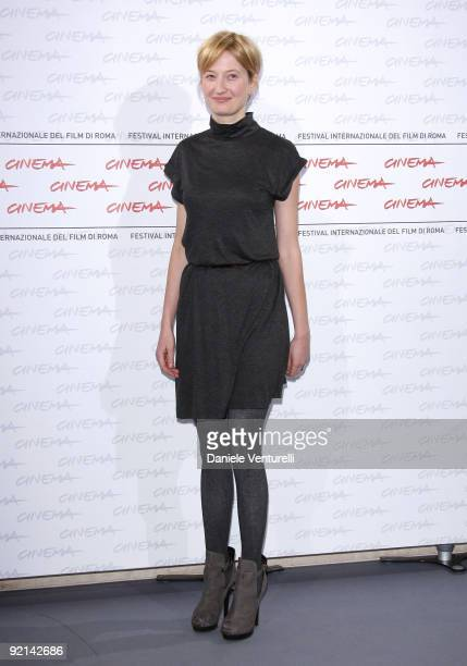 Actress Alba Rohrwacher attends the 'L'Uomo Che Verra' Photocall during Day 7 of the 4th International Rome Film Festival held at the Auditorium...