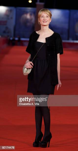 Actress Alba Rohrwacher attends the 'L'Uomo Che Verra' Premiere during Day 7 of the 4th Rome International Film Festival held at the Auditorium Parco...
