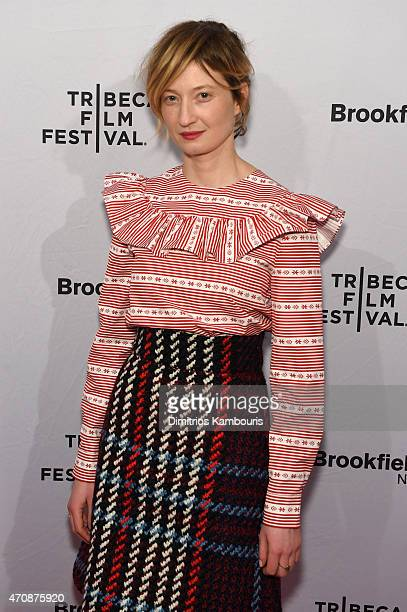 Actress Alba Rohrwacher attends the premiere of Hungry Hearts during the 2015 Tribeca Film Festival at the SVA Theater on April 23 2015 in New York...
