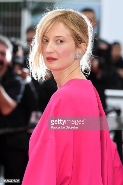 Actress Alba Rohrwacher attends the screening of Happy As Lazzaro during the 71st annual Cannes Film Festival at Palais des Festivals on May 13 2018...