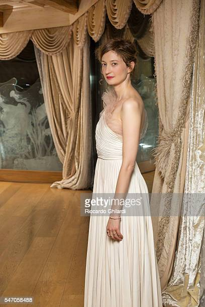Actress Alba Rohrwacher is photographed for for Self Assignment on July 2 2016 in Taormina Italy