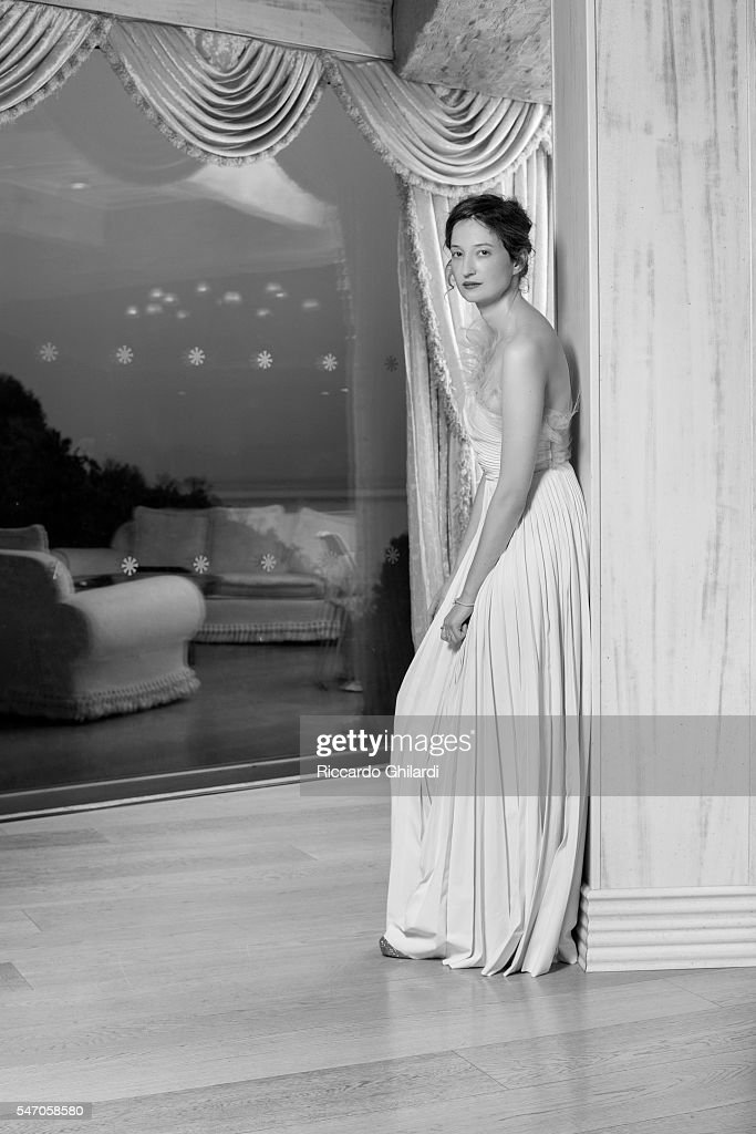 Actress Alba Rohrwacher is photographed for for Self Assignment on July 2, 2016 in Taormina, Italy.