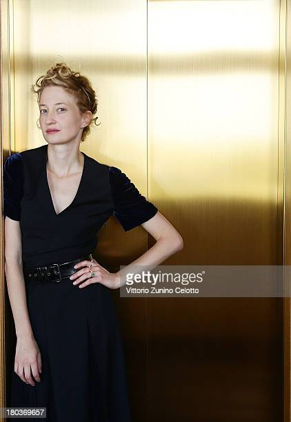 Actress Alba Rohrwacher poses at a portrait session during the 70th Venice International Film Festival on August 31 2013 in Venice Italy