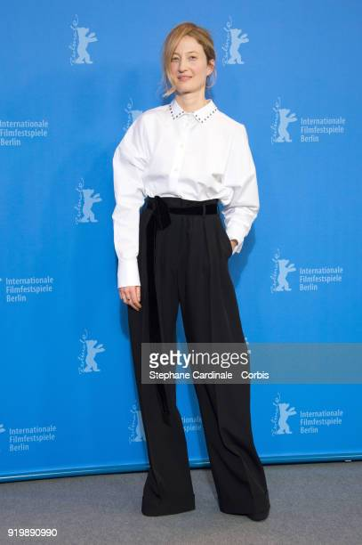 Actress Alba Rohrwacher poses at the 'Daughter of Mine' photo call during the 68th Berlinale International Film Festival Berlin at Grand Hyatt Hotel...