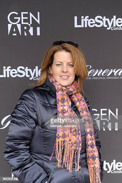 Actress Alecia Hurst attends the GenArt Lounge Day 2 at The Sky Lodge on January 23 2010 in Park City Utah