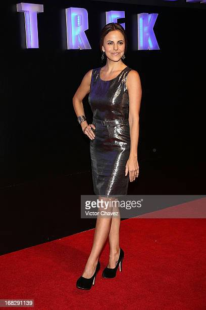 Actress Alejandra Ambrosi attends the 'Star Trek Into Darkness' Mexico City premiere at Cinepolis Plaza Carso on May 7 2013 in Mexico City Mexico