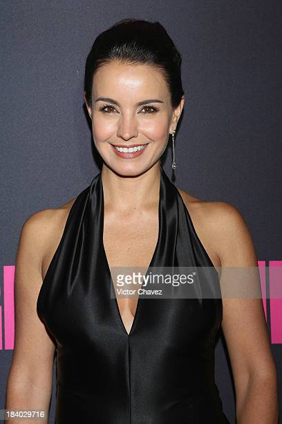 Actress Alejandra Barros attends the Glamour Magazine 15th Anniversary at Casino Del Bosque on October 10 2013 in Mexico City Mexico