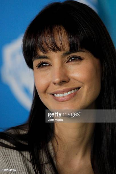 Actress Alejandra Barros during a press conference to announce the beginning of the filming of the movie 'Viento en Contra' at Kansas 20 on November...