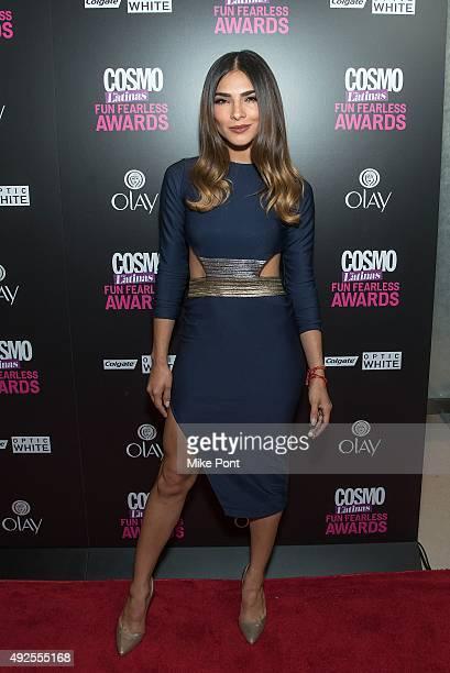 Actress Alejandra Espinoza attends the 2015 Fun Fearless Latina Awards at Hearst Tower on October 13 2015 in New York City