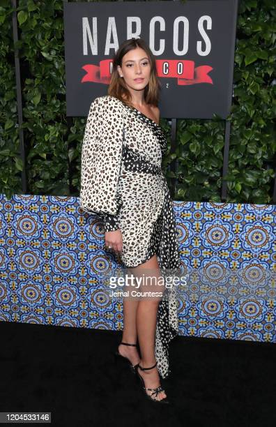 "Actress Alejandra Guilmant attends the ""Narcos: Mexico"" Season 2 premiere at Netflix Home Theater on February 06, 2020 in Los Angeles, California."