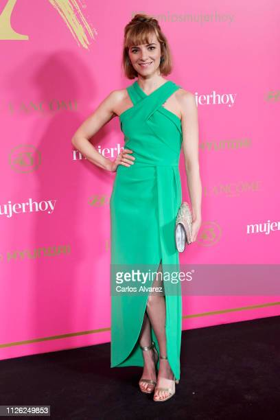 Actress Alejandra Lorente attends 'MujerHoy' awards 2019 at Casino de Madrid on January 30 2019 in Madrid Spain